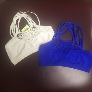 Bundle of two bralettes. NWT